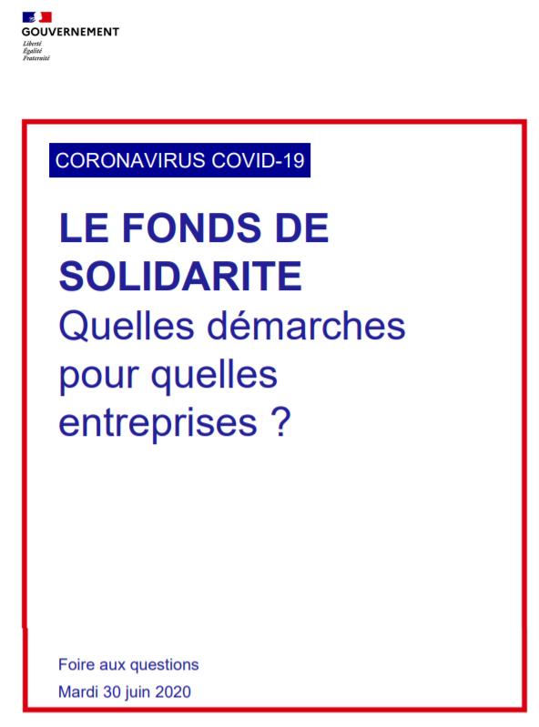 Fonds de solidarité: Quelles démarches pour quelles entreprises ?
