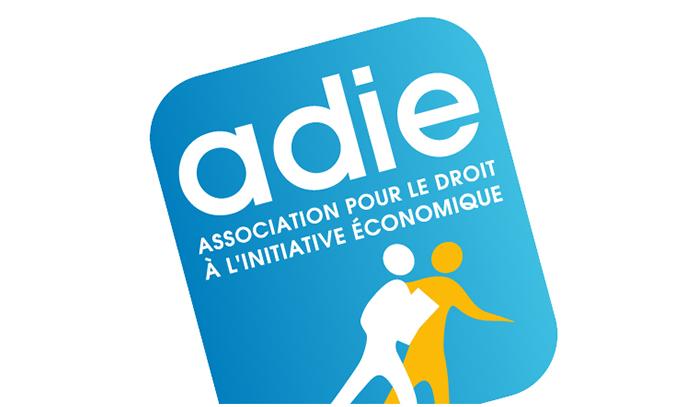 ADIE Logo, Partenaire Espace Gestion 17
