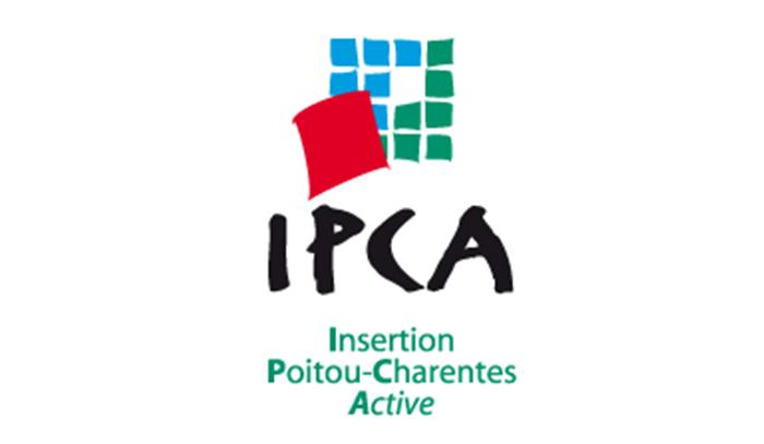 IPCA Logo-Insertion Poitou-Charente Active, Partenaire Espace Gestion 17