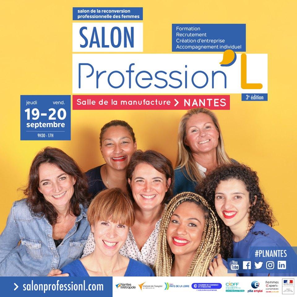 Salon Professionne'l – reconversion professionnelle – Nantes (44)