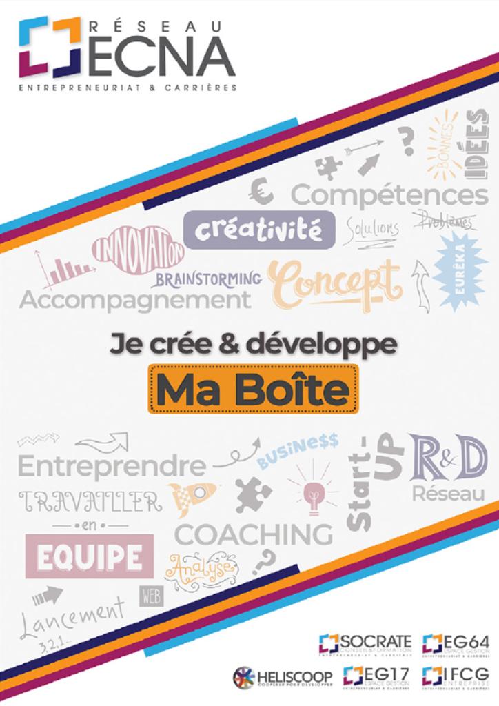 Plaquette du réseau ECNA – Entrepreneuriat et Carrières